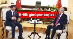 Davutoğlu-Kılıçdaroğlu görüşmesi başladı!