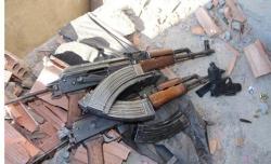 PKK silahlarını öyle bir yere saklamış ki...