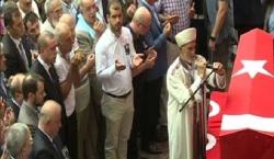 Erdoğan şehit cenazesine katıldı Flaş açıklama