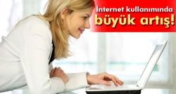 Türkiye'de internet kullanım oranı yüzde 56