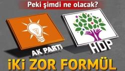İşte Ankara'daki iki zor formül!