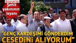 Karaçobanlı Er'e Erzurum'da tören