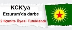 Erzurum'da KCK'ya darbe