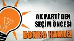 AK Parti'den bomba hamle