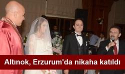 Altınok, nikaha katıldı!