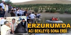 Erzurum'da gölette kaybolan kişinin cesedine ulaşıldı