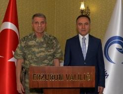 Jandarma Genel Komutanı Erzurum'da