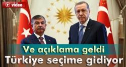 Türkiye seçime gidiyor