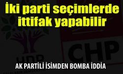 AK Partili isimden bomba iddia