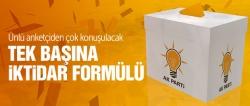 AK Parti'yi iktidar yapacak formül