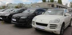 Lüks araçlara intihar saldırısı