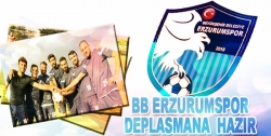 BB Erzurumspor deplasmana hazır