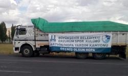 BB Erzurumspor Hopa'yı unutmadı