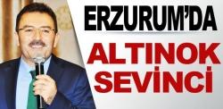 Erzurum'da Altınok sevinci!
