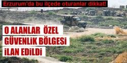 Erzurum'da bu ilçede oturanlar dikkat!