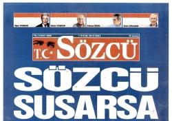Sözcü Gazetesi manşeti olay
