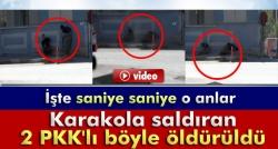 2 PKK'lı böyle öldürüldü!