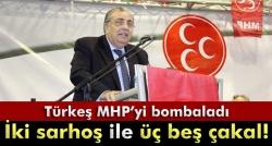 Türkeş: 'Beni kimse partimden atamaz'