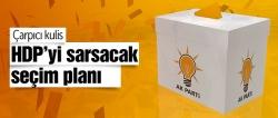 AK Parti'den HDP stratejisi!