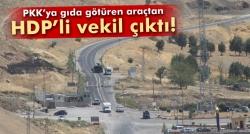Araçtan HDP'li vekil çıktı