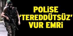 Toplumsal olaylarda polise vur emri