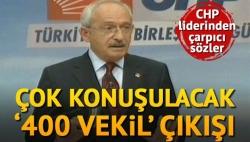 400 Milletvekili CHP'den!