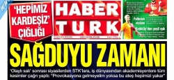 Habertürk Gazetesi ortak çağrı