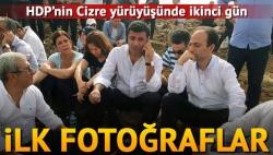 HDP'lilerin Cizre yolculuğu sürüyor!