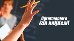 Okullar açılana kadar idari izinli sayılacak