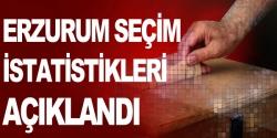 Erzurum seçim istatistikleri açıklandı
