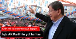 AK Parti'de Kritik İller İçin 30 Miting!