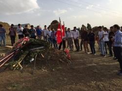 Erzurum şehit ailesinin acısını dindirdi