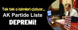 AK Parti listelerine Erdoğan ayarı