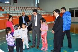 Aziziye'nin gençleri projesi kabul edildi