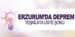 AK parti teşkilatında liste şoku!