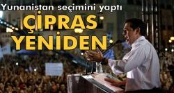 Yunanistan'daki seçimin galibi