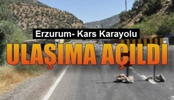 Kağızman-Karakurt yolu ulaşıma açıldı!