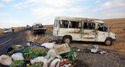 Şanlıurfa'da minibüs devrildi: 21 yaralı