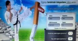 Sigara tiryakilerine 'ücretsiz yardım' tuzağı