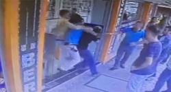 Tacizciye linç girişimi güvenlik kameralarına yansıdı