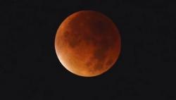 Süper Ay Tutulması böyle izlendi