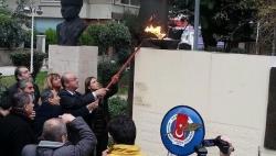 Basın Özgürlüğü Anıtı 'yanlışlıkla' yıkıldı!