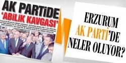 """AK Partide """"Abilik kavgası"""""""