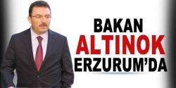 Bakan Altınok Erzurum'da!