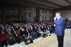 Dursun Ali Erzincanlı Halep'e yardım gecesi'nde sahne aldı