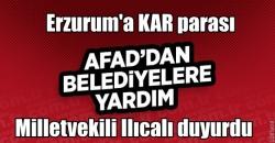 Belediyelere AFAD yardımı!