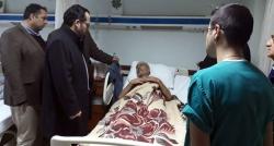 Acı haberi hasta yatağında aldı