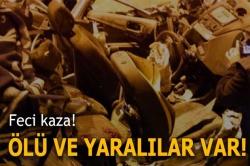 Bayburt'ta zincirleme kaza:3 ölü