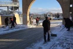Doğu'da kar yağışı ve soğuk hava