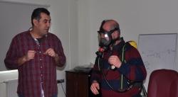 ESKİ'nin çalışanlarına uygulamalı İş Güvenliği eğitimi!